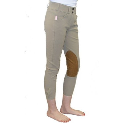 Tailored Sportsman - Girls Trophy Hunter Front Zip Breech - Quail Hollow Tack