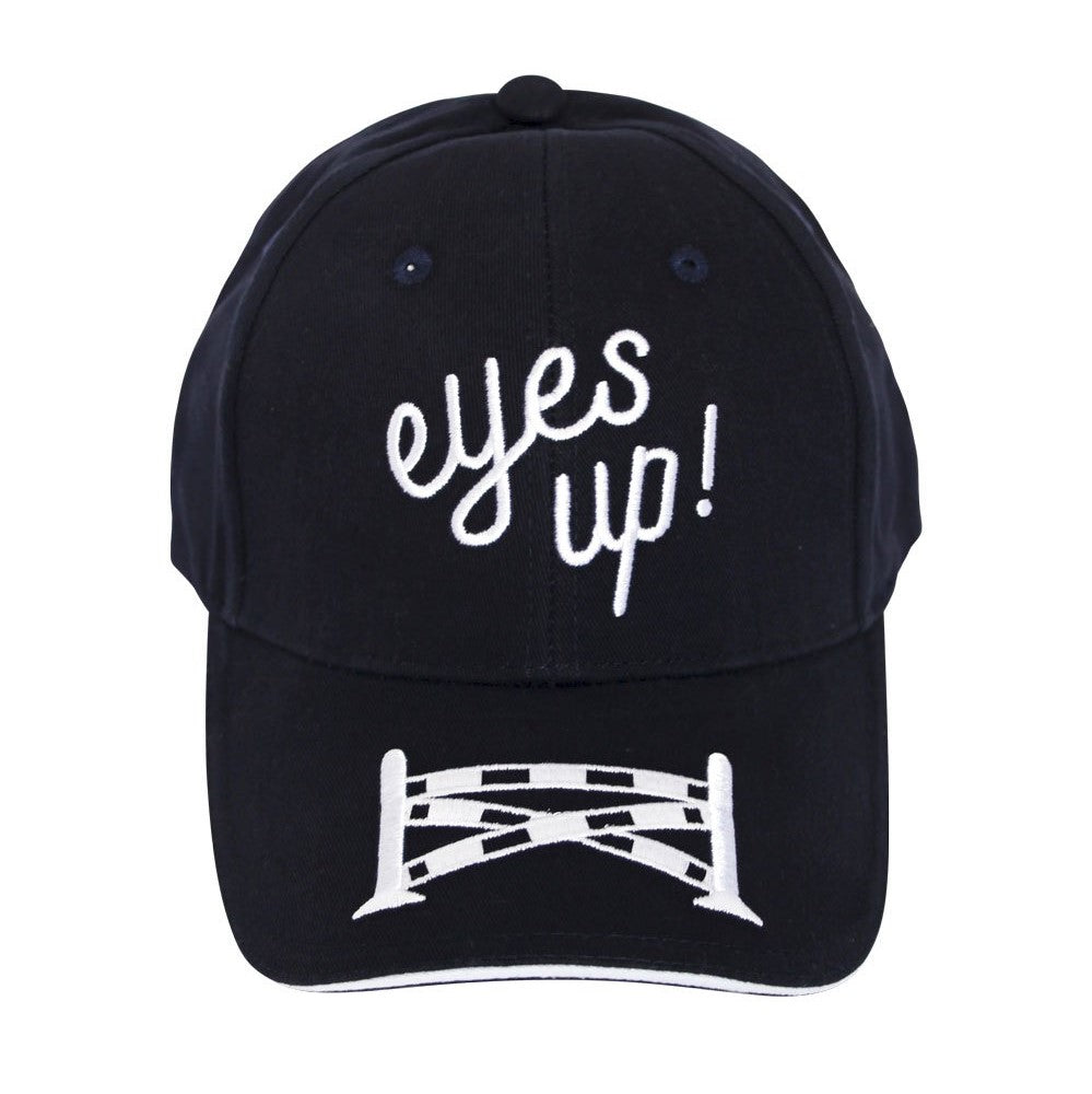 Spiced Equestrian - Eyes Up Ringside Hat - Onyx - Quail Hollow Tack