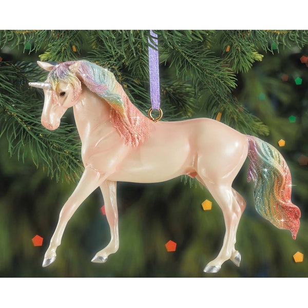 Breyer - Majesty - Unicorn Ornament - Quail Hollow Tack