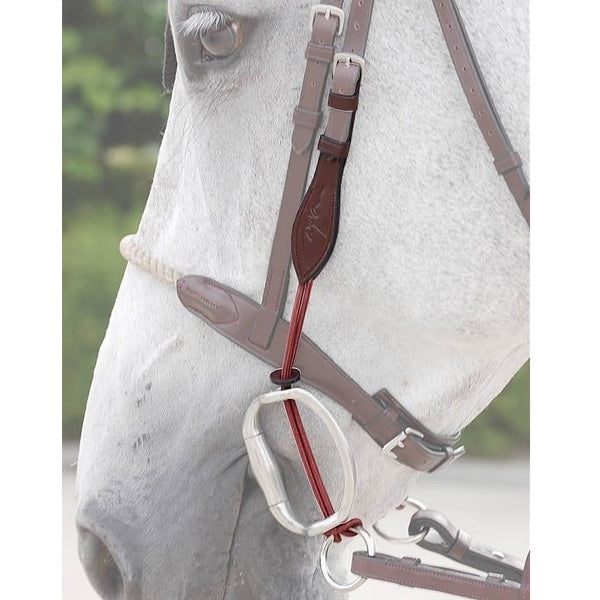 Dy'on - Thin Rope Gag Cheek Pieces - Quail Hollow Tack