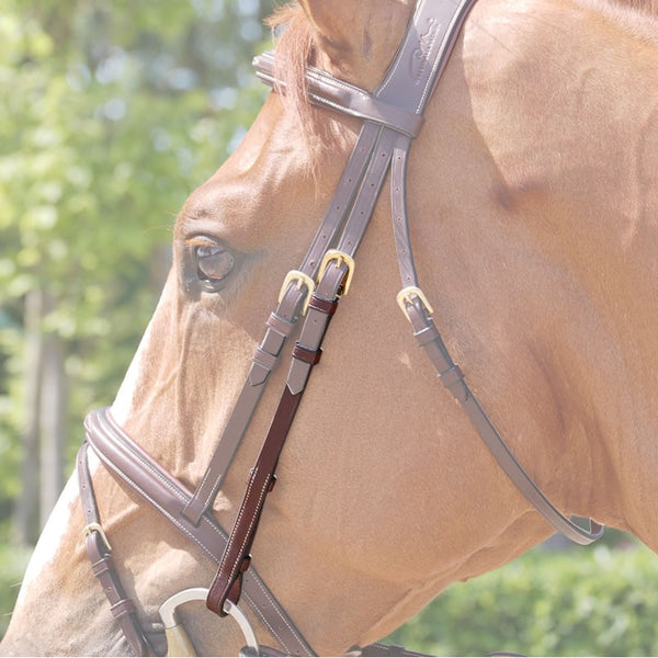 Dy'on - Cheek Pieces - Quail Hollow Tack