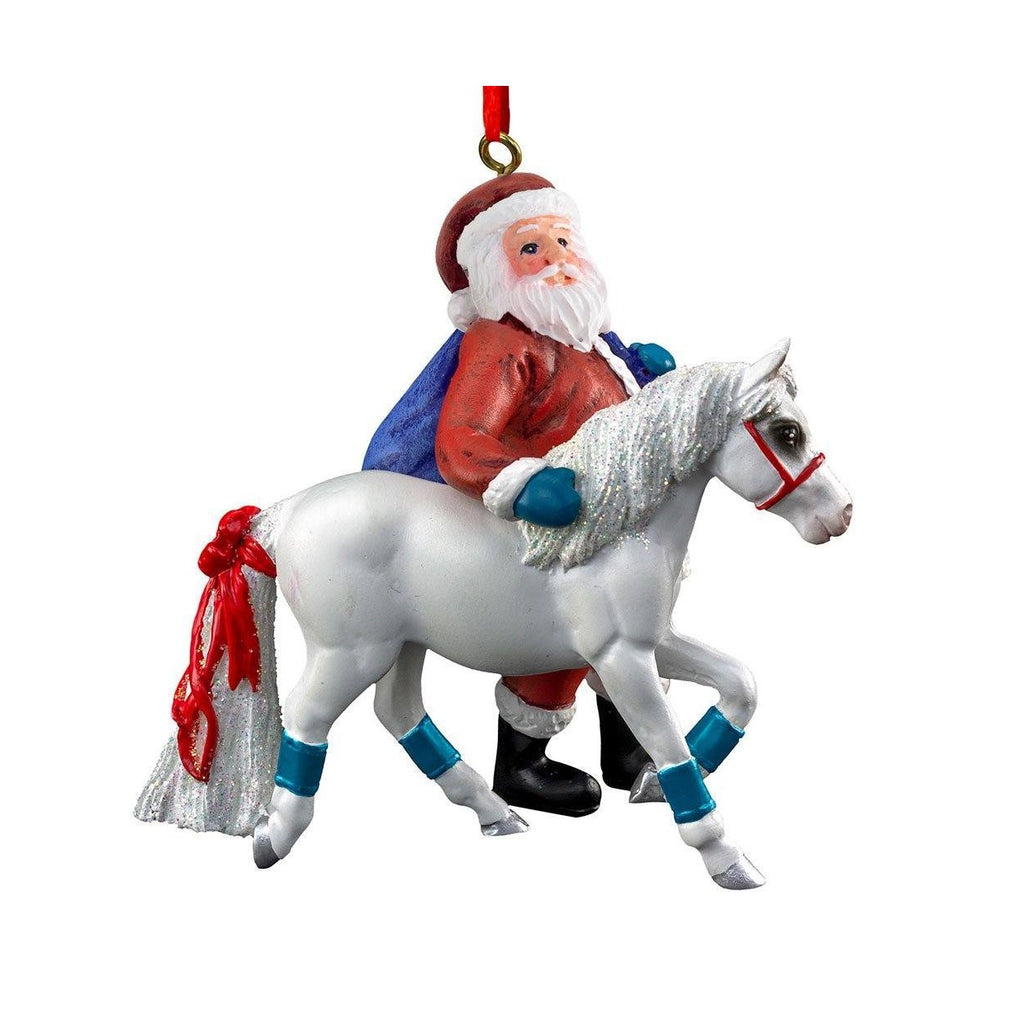 Breyer - Pony for Christmas Ornament - Quail Hollow Tack
