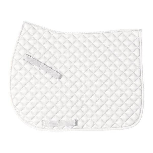 Centaur - Imperial Saddle Pad - White - Quail Hollow Tack