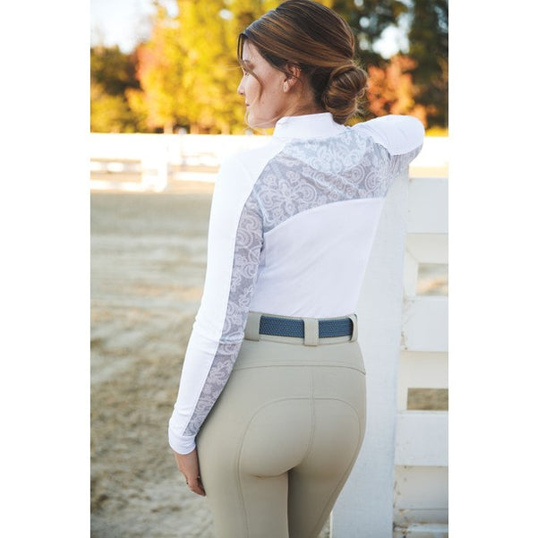 Romfh - Ladies Lace Hunter Show Shirt - Quail Hollow Tack