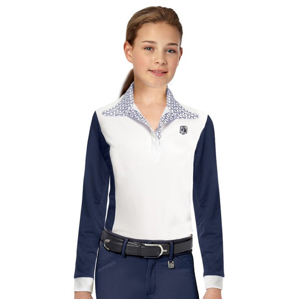 Romfh - Girls Signature Magnet Show Shirt - Quail Hollow Tack