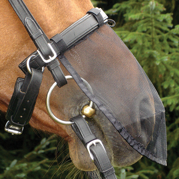 Cashel - Quiet Ride Nose Net - Quail Hollow Tack