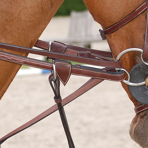 Dy'on - Leather Draw Reins - Quail Hollow Tack