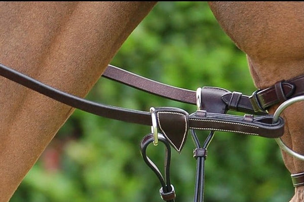 Dy'on - Working Rubber Rein - Quail Hollow Tack