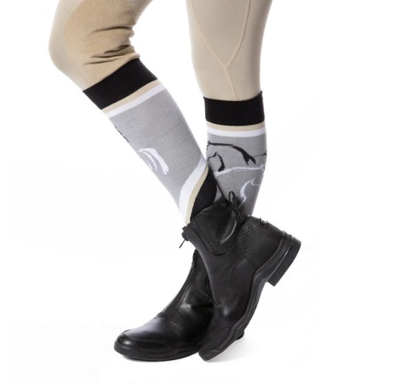 Kerrits - Turn Out Knee High Sock - Mica - Quail Hollow Tack