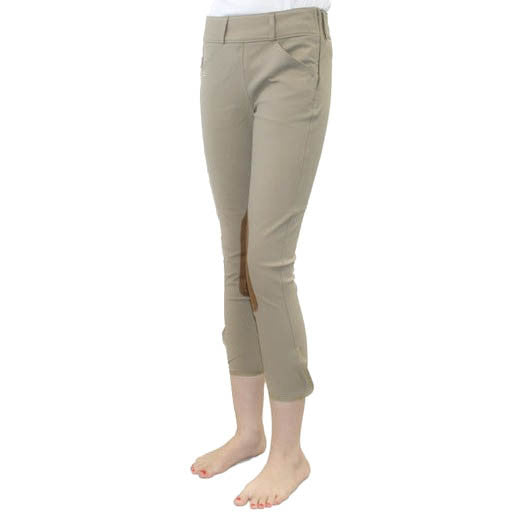 Tailored Sportsman - Girls Trophy Hunter Side Zip Breech - Quail Hollow Tack