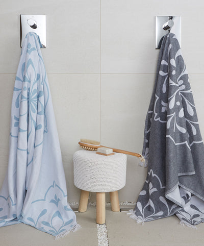 Double sided Turkish Bath Towels