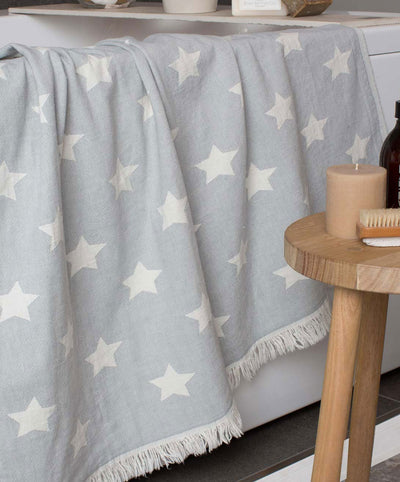 Dreamer Double-sided Cotton Fringed Turkish Towel bath