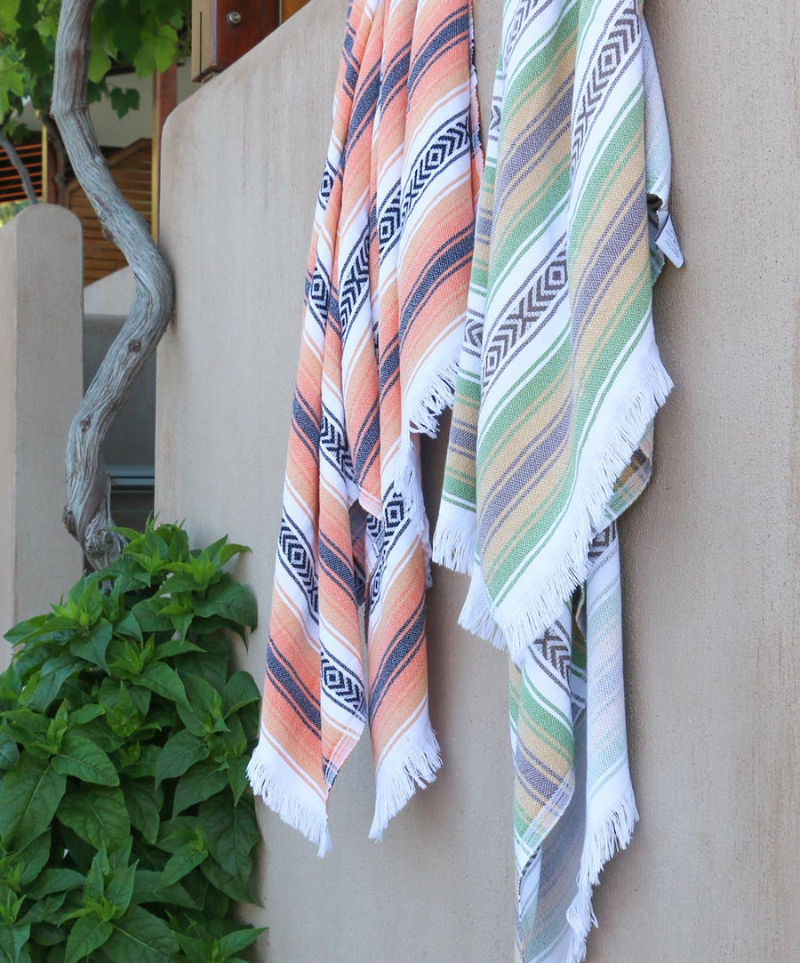 Escape Turkish Towel with Patterns