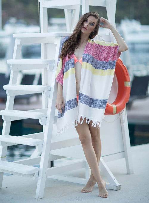 Cotton Handmade Fashionable Beach Cover Up Dress