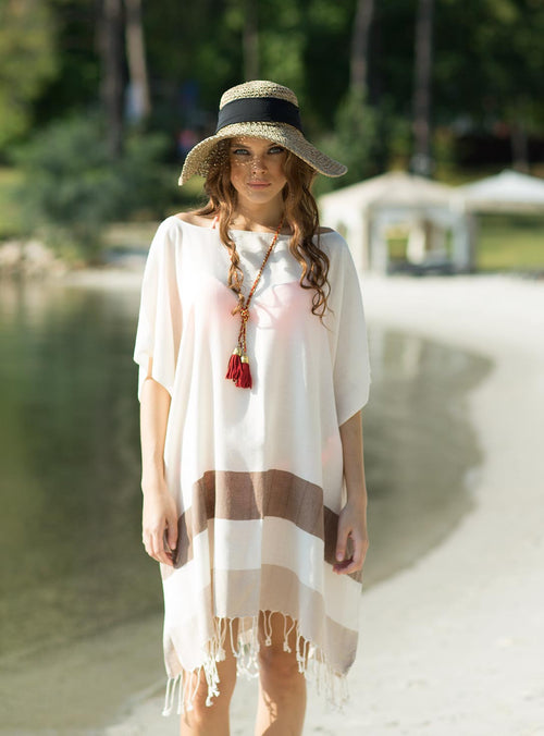 Cotton Handmade Fashionable Beach Dress Cover Up