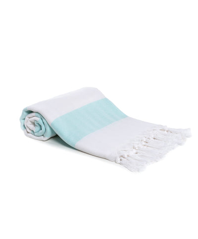 Mediterranean 100% Cotton Bath Towels Mint