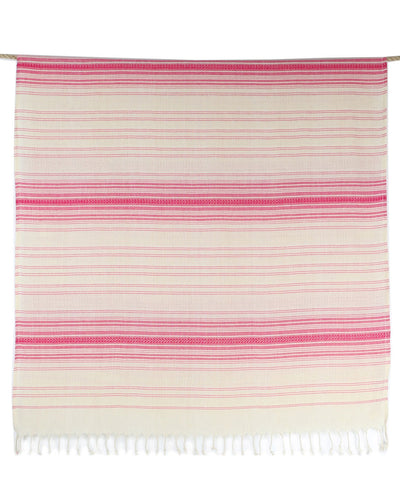 Pink 100% Cotton Turkish Bath Towel Women's