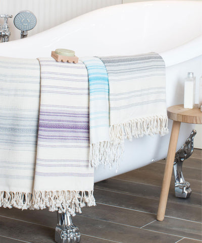 Ottoman 100% Cotton Turkish Bath Towels