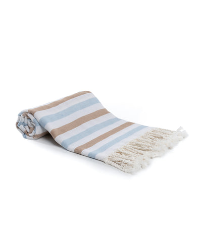Pure Cotton Turkish Towel with Fringes
