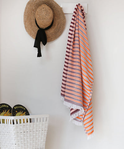 Reflect Turkish Towel with Color Transition