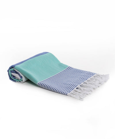 Spring Cotton Ultra Soft Turkish Towel Turquoise