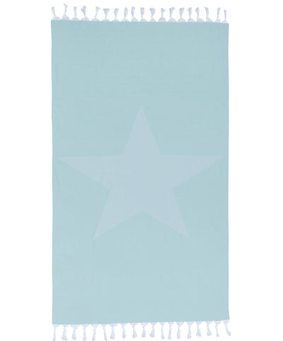 Star Shape Towel Mint