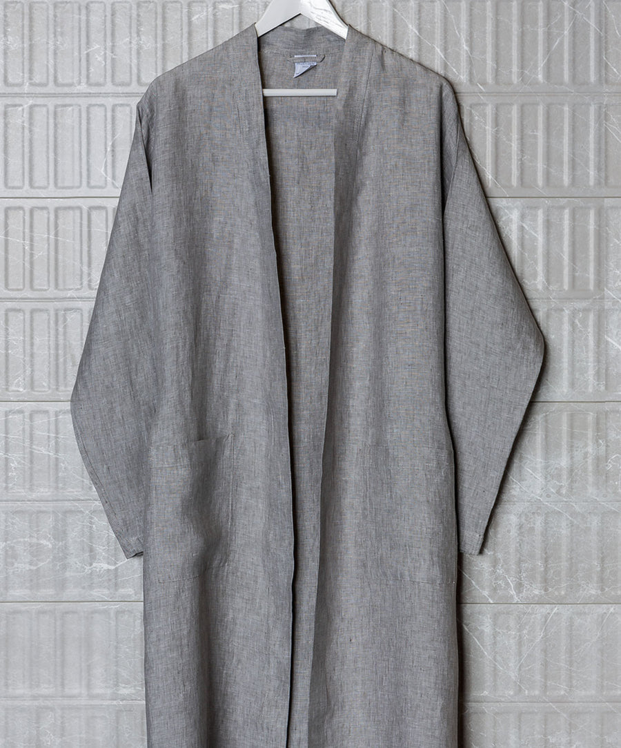 Handmade Luxury Linen Robe