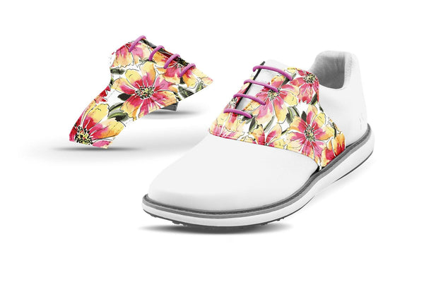 Women's Sangria By Glove It Saddles On White Golf Shoe From Jack Grace USA