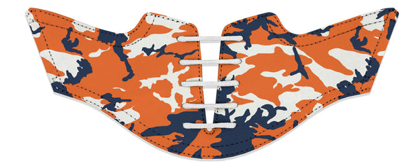 Men's Auburn Camo Saddles Flat Saddle View From Jack Grace USA