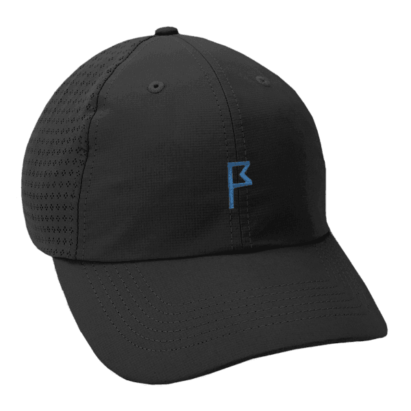 Women's Black Dahlia Adjustable Hat with Your Choice of Logo Color