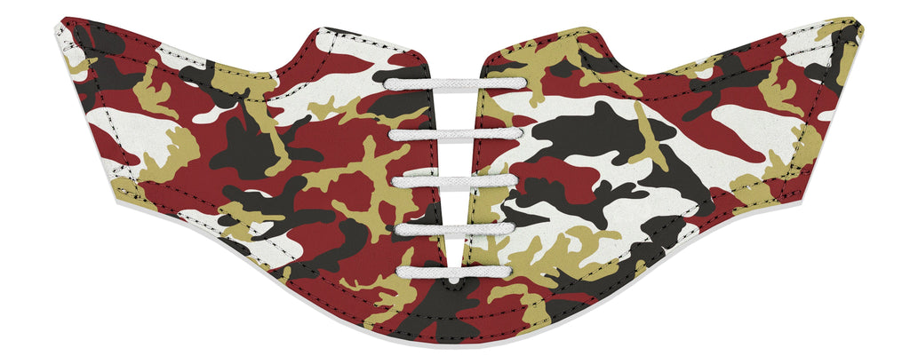 Men's Boston Camo Alma Mater Series Saddles & White Laces
