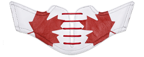 Men's Canadian Saddles With Red Laces