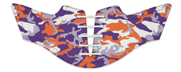 Men's Clemson Camo Alma Mater Saddles Flat View From Jack Grace USA