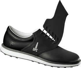 Men's Denver Petroleum Club Logo on Innovator 1.0 Golf Shoe Black