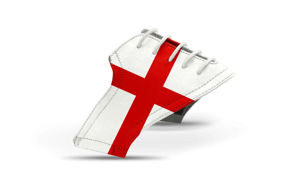 Men's Flag of England St. George's Cross Saddles & Laces