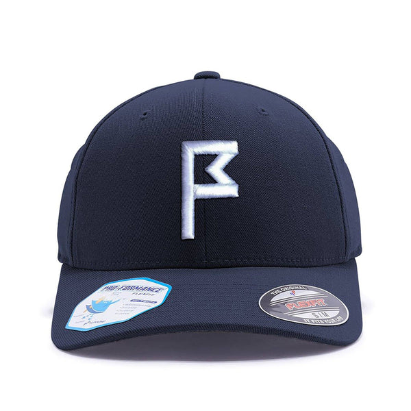 Navy Hat with Your Choice of Flagstick Color