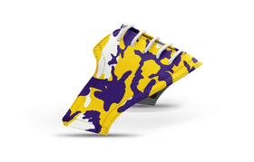 Men's Baton Rouge Camo Alma Mater Series Saddles & White Laces