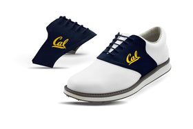 Mens Cal USA Saddles On White Golf Shoe From Jack Grace USA