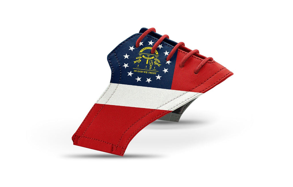 Men's Georgia flag saddles lonely saddle view from Jack Grace USA