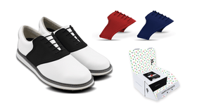 Men's Innovator 1.0 Golf Shoe with Holiday Bundle Saddles & Laces