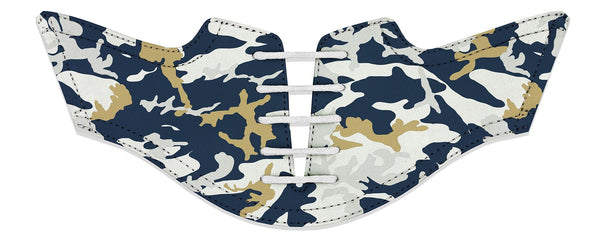 Men's La Pro Football Camo Saddles Flat Saddle View From Jack Grace USA
