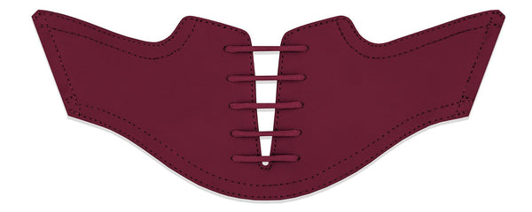 Men's Maroon Saddles Flat Saddle View From Jack Grace USA