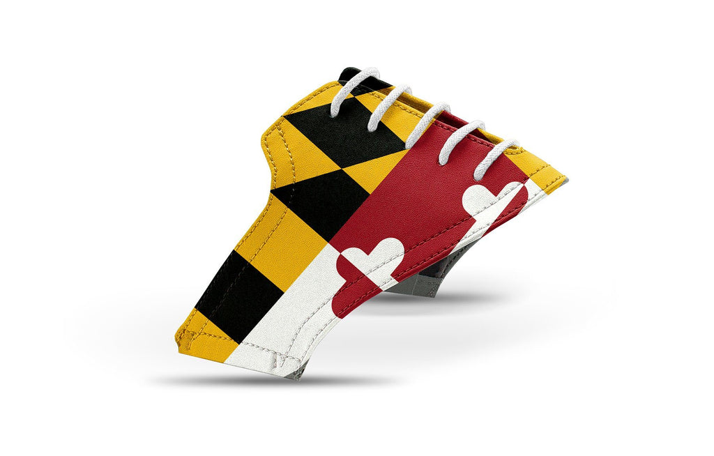 Men's Maryland flag saddles lonely saddle view from Jack Grace USA