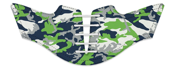 Men's Seattle Pro Football Camo Saddles Flat Saddle View From Jack Grace USA