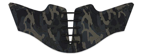 Men's Shadow Camo Saddles Flat Saddle View From Jack Grace USA