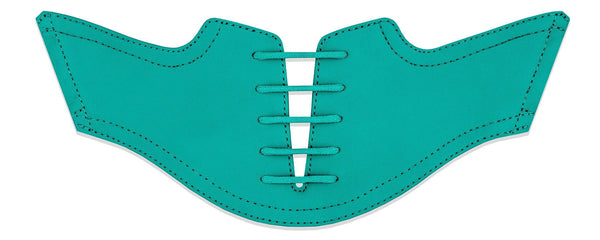 Men's Teal Saddles Flat Saddle View From Jack Grace USA