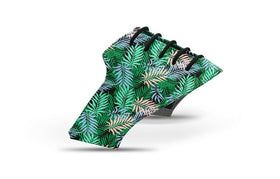 Men's tropical palm fronds saddles lonely saddle view from Jack Grace USA