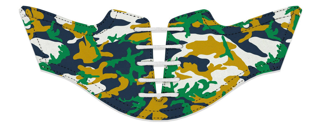 Men's South Bend Camo Alma Mater Series Saddles & White Laces