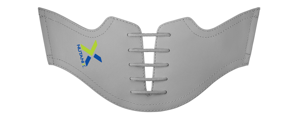 Nutanix Logo on Grey Saddles and Laces