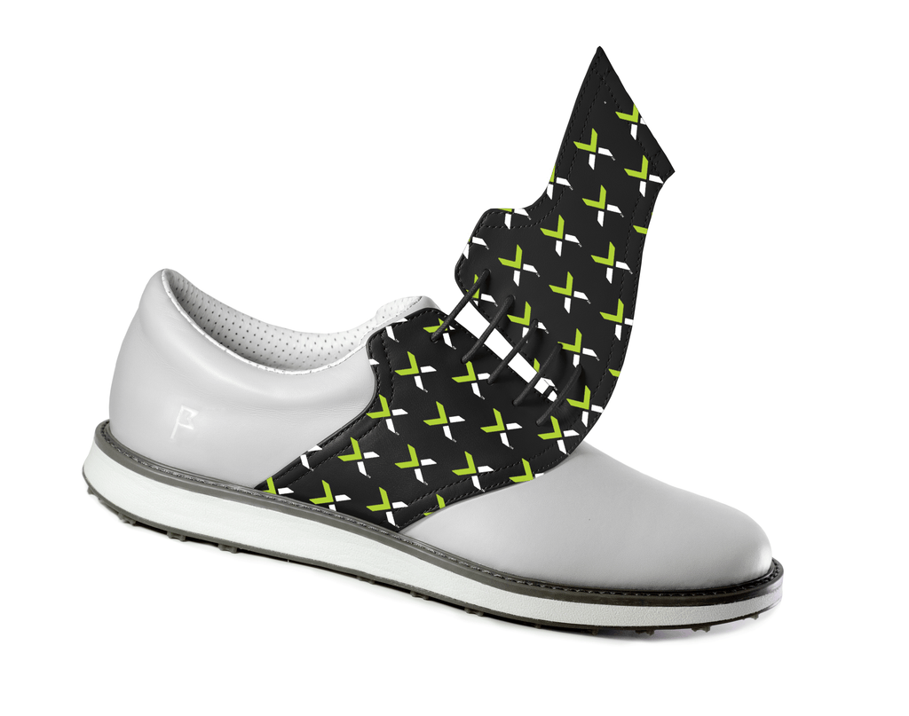 Nutanix Pattern on Grey Shoe